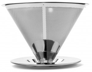 Reusable Single Serve Coffee Filter, Stainless Steel