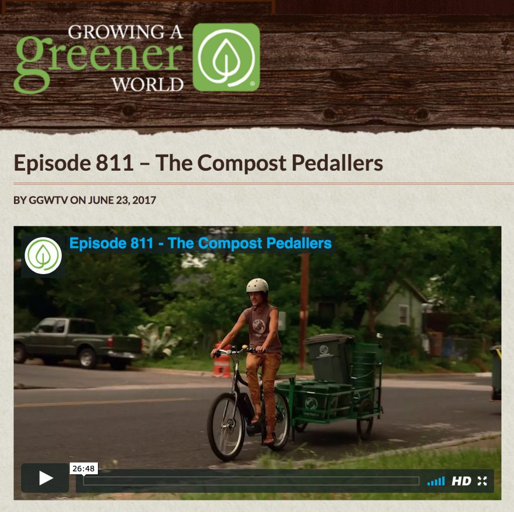 Growing a Greener World - Compost Pedallers