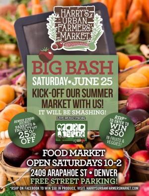 Denver Farmers Market at 24th & Arapahoe