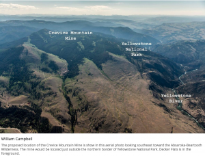 Mining blocked near Yellowstone