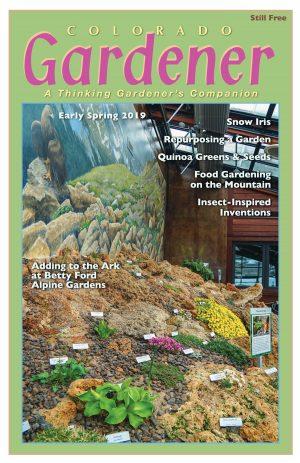 Colorado Gardener Magazine - Spring 2019 Cover