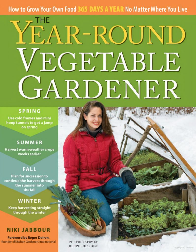 Year-Round Vegetable Gardener book by Niki Jabbour