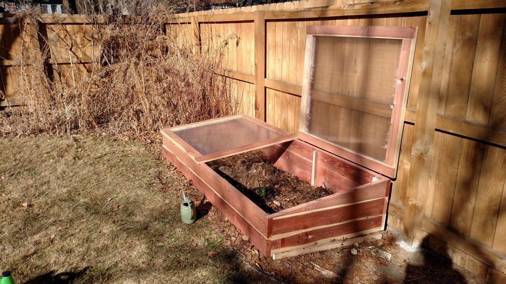 Denver, Colorado Cold Frame