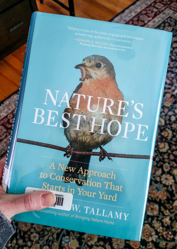 Native Trees Denver - Nature's Best Hope is a great read about planting native plants and trees